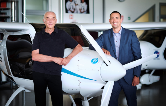 Pipistrel and Green Motion CEOs